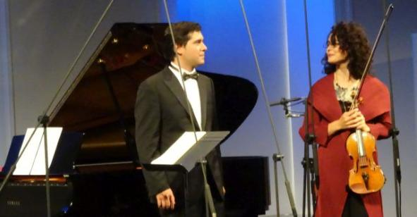 Alena Baeva&Vadym Kholodenko, chamber concert 29 August 2019 in Warsaw